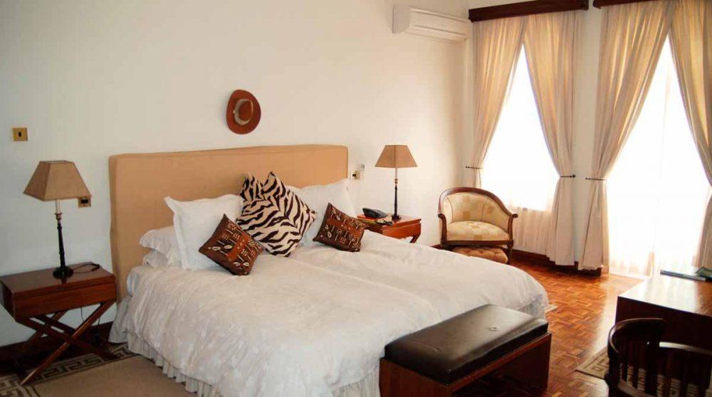 Une chambre double au Kenya