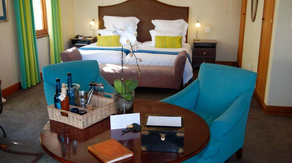 Chambre luxury en Afrique du Sud
