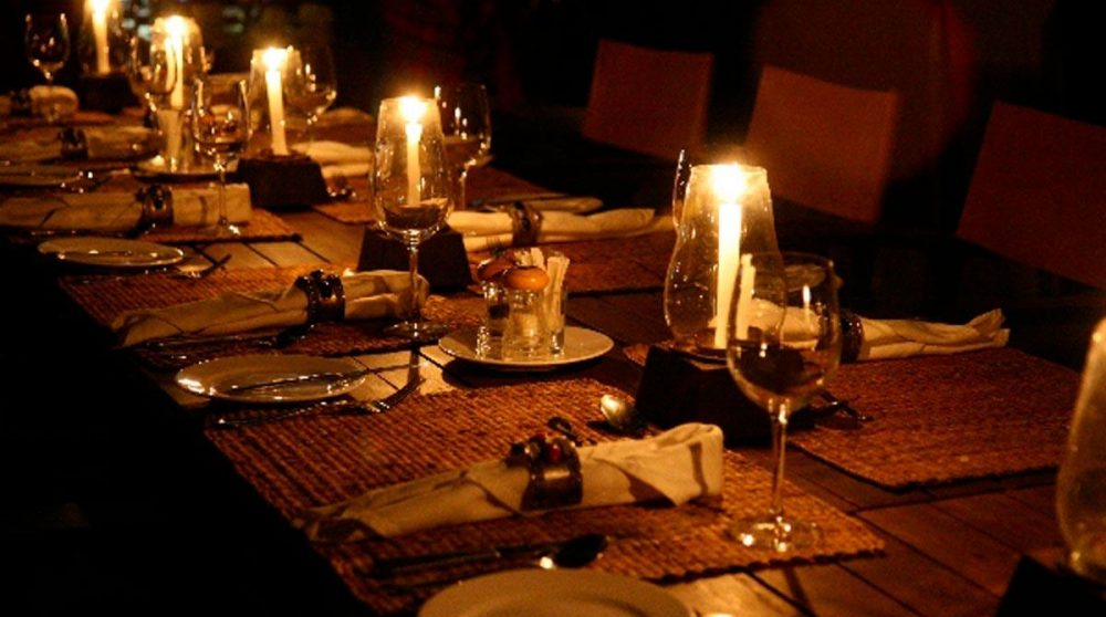 Une table pour dîner