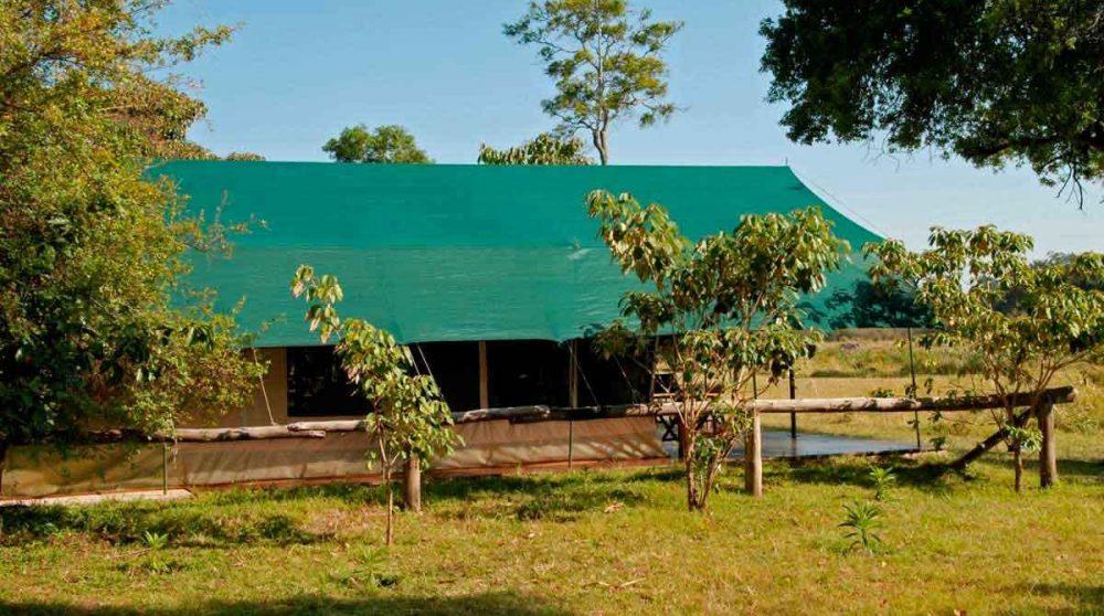 L'une des tentes