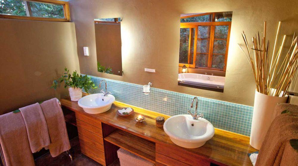 Sa salle de bains du parc iSimangaliso