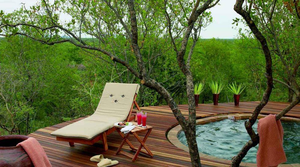 Piscine d'une chambre en Afrique du Sud
