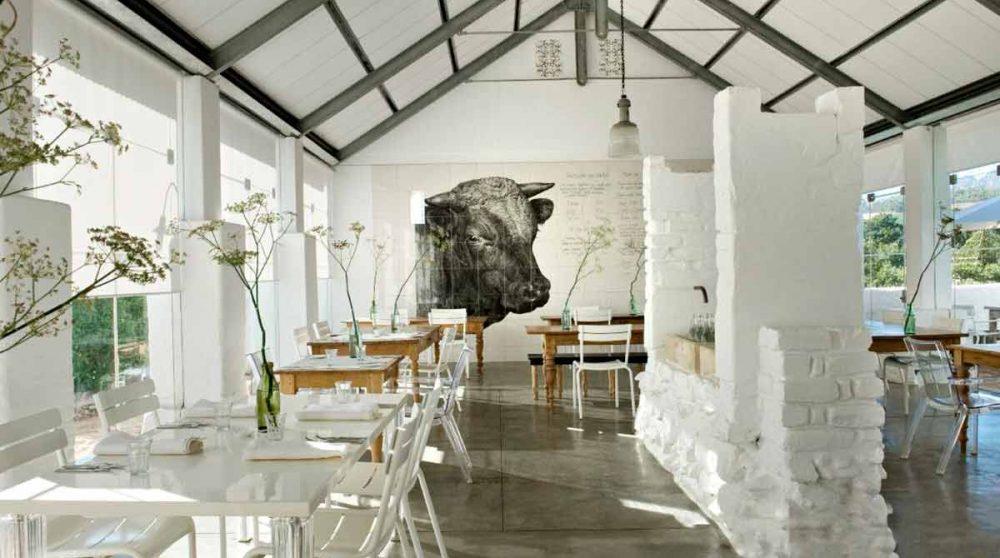Le restaurant Babel en Afrique du Sud