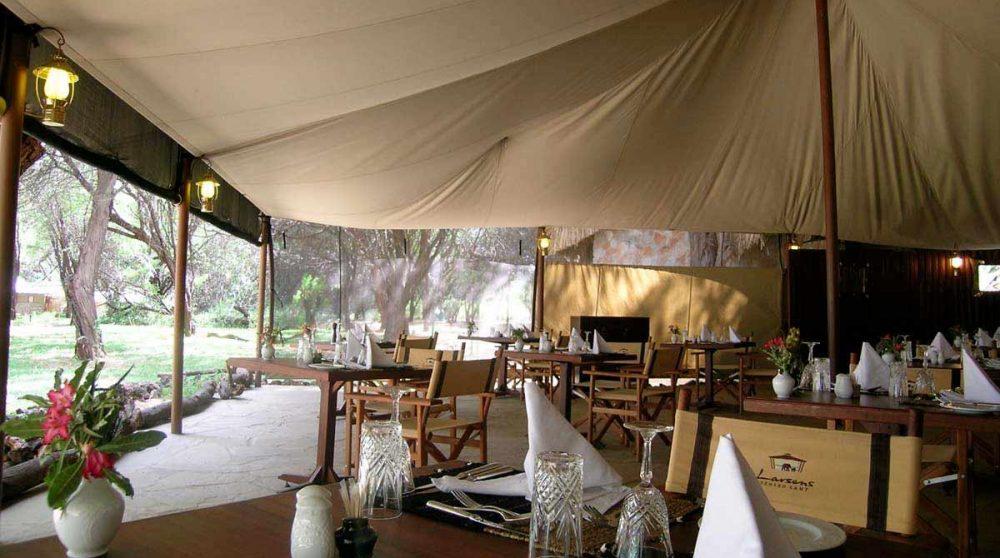 Le restaurant au Kenya