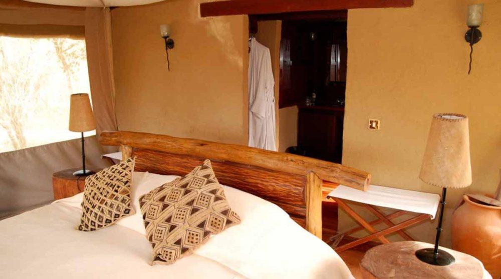 La jolie tente double au Kenya