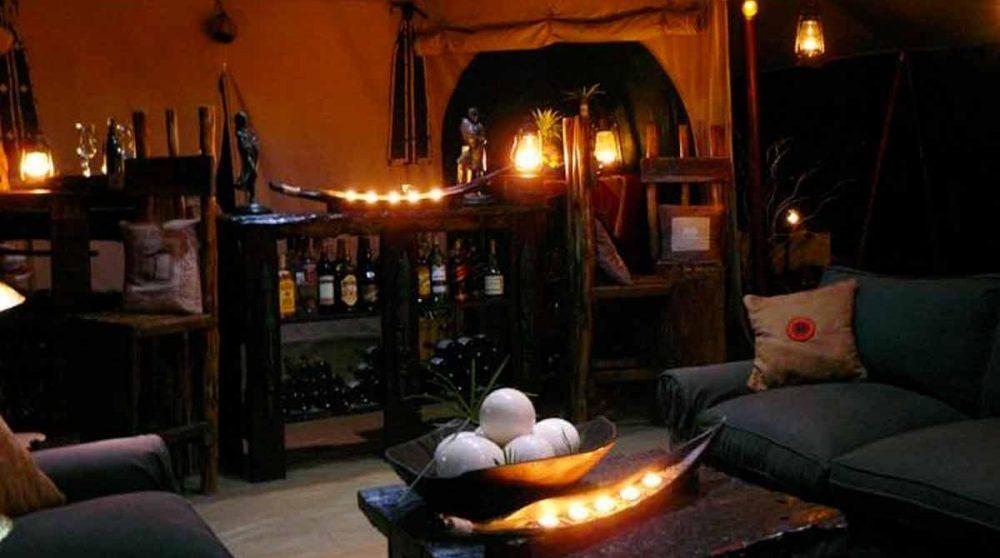 Le bar dans le Masai Mara