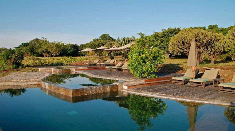 Autre vue de la piscine au Kenya