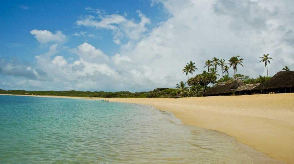 L'océan Indien sur l'île de Lamu
