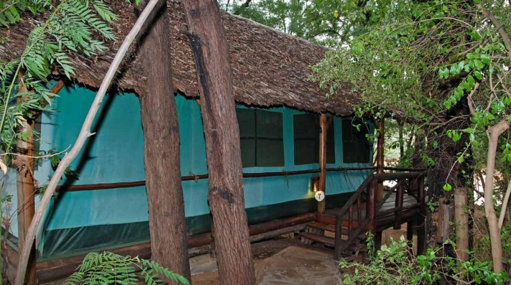 Une tente à Samburu
