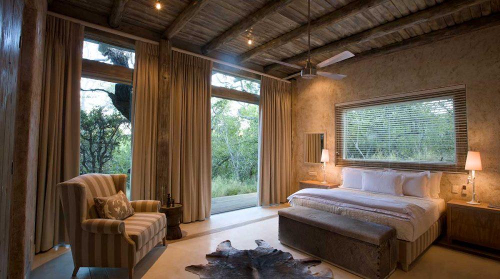 Une chambre en Afrique du Sud