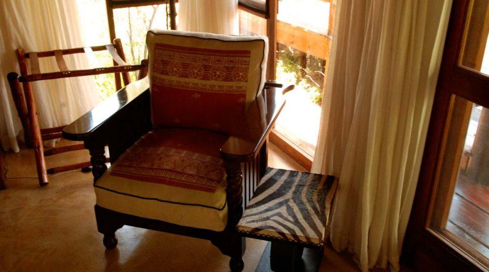 Un fauteuil près du Welgevonden Private Game Reserve