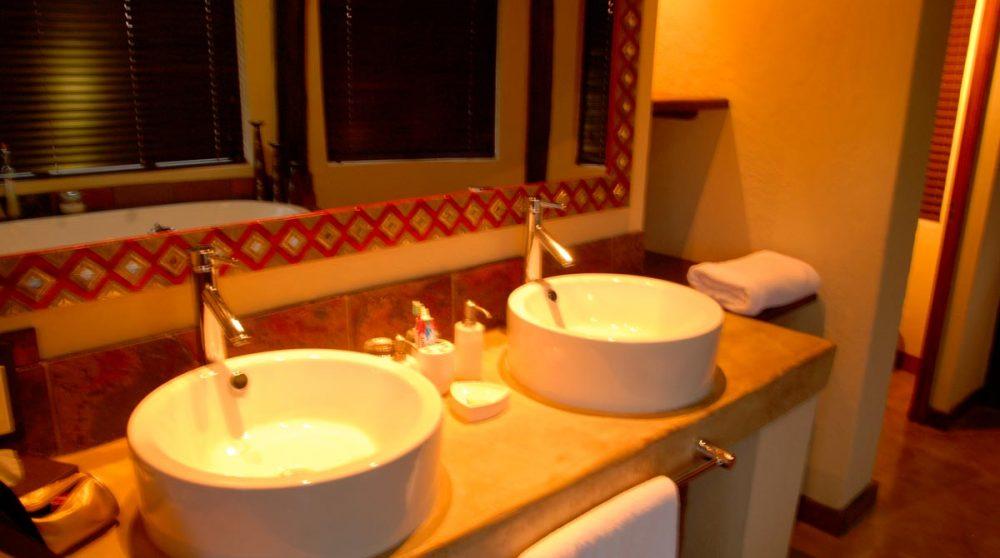 La salle de bains à Madikwe