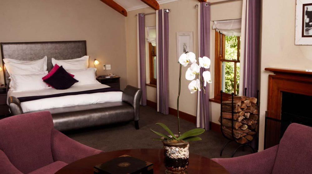 Exemple de chambre luxury à Franschhoek