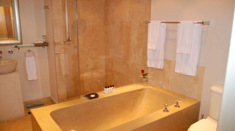 Salle de bains d'une chambre luxury au Cap