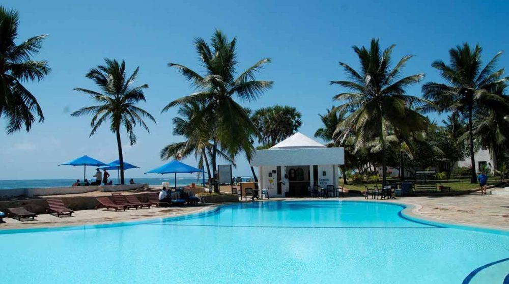 La piscine à Mombasa