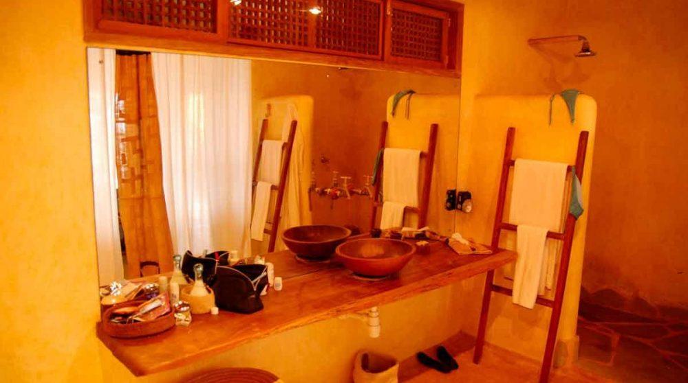 La salle de bains à Mombasa