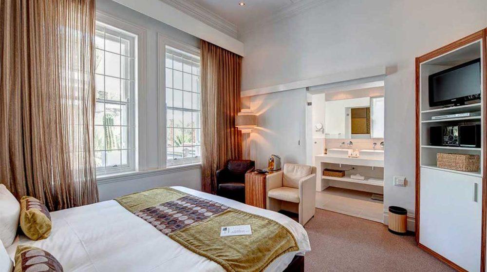 Une chambre standard au Cap