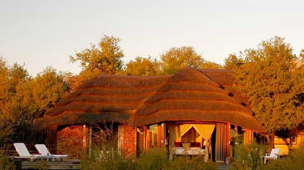 Vue extérieure d'une suite à Madikwe