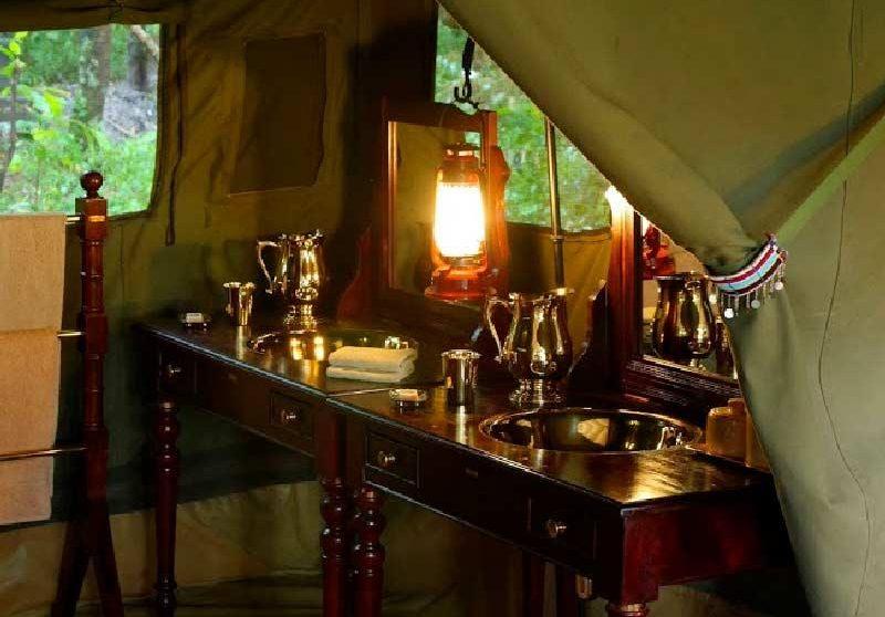 Autre vue d'une tente