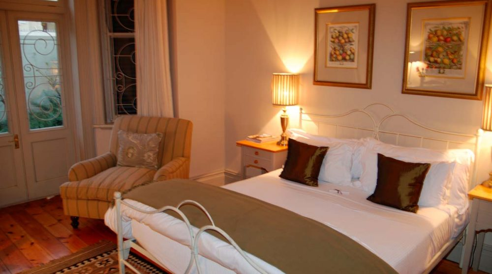 Exemple de chambre de l'hôtel au Cap