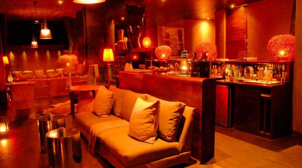 Espace lounge le soir