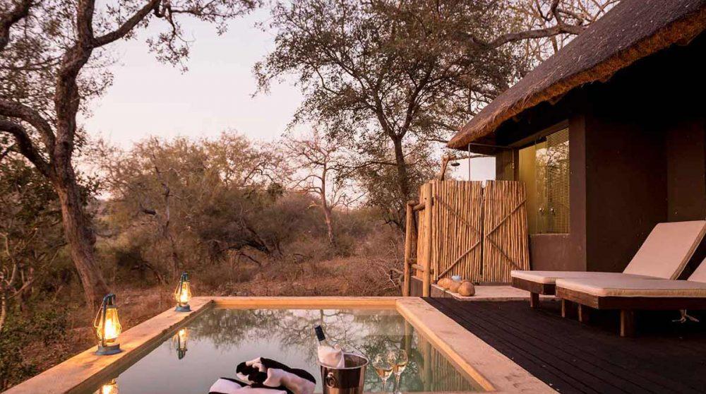 Sa petite piscine privative près du parc Kruger