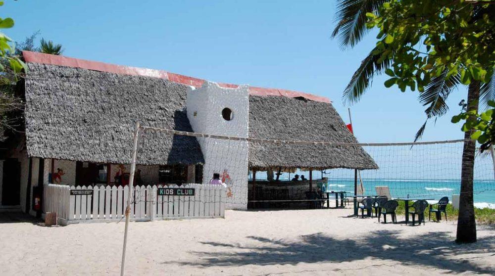 Terrain de beach volley à l'Indian Ocean Beach Club