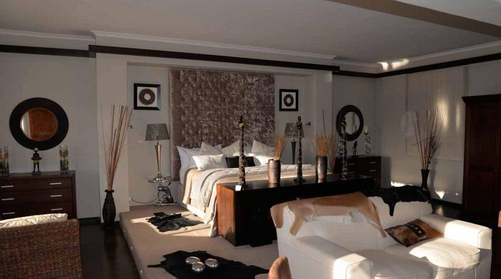 L'intérieur de la Suite à Inverdoorn
