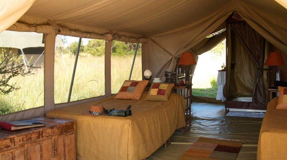 Chambre au Kilima Camp