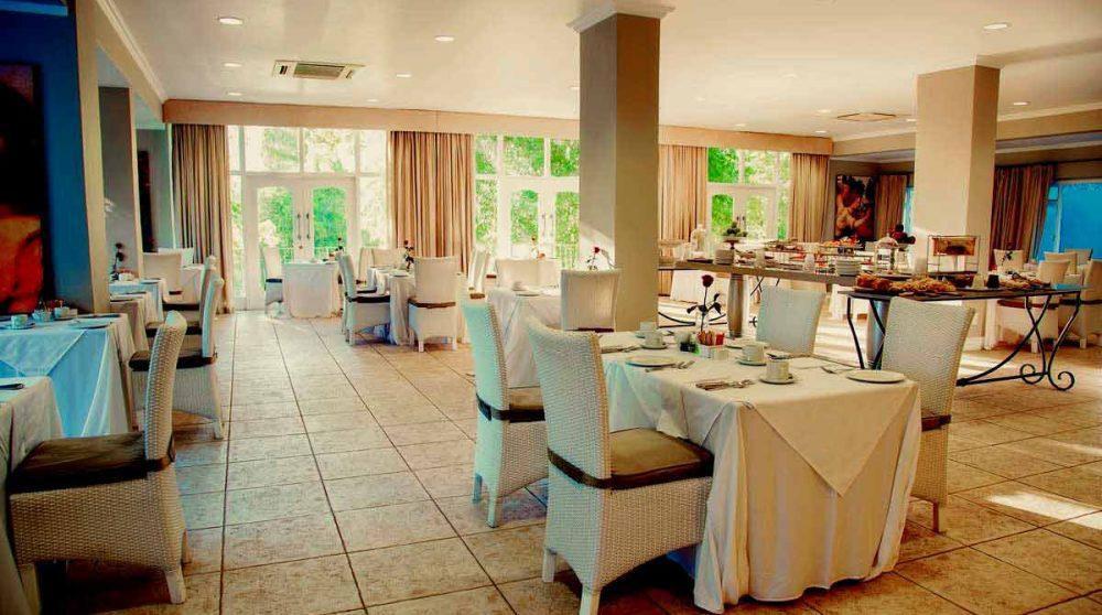 Le restaurant Pavillion du Franschhoek Hotel and Spa