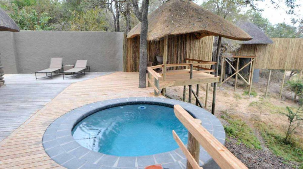 Une piscine privée au Londolozi Founders Camp