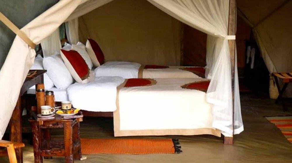 Autre chambre au Mara Bush Camp