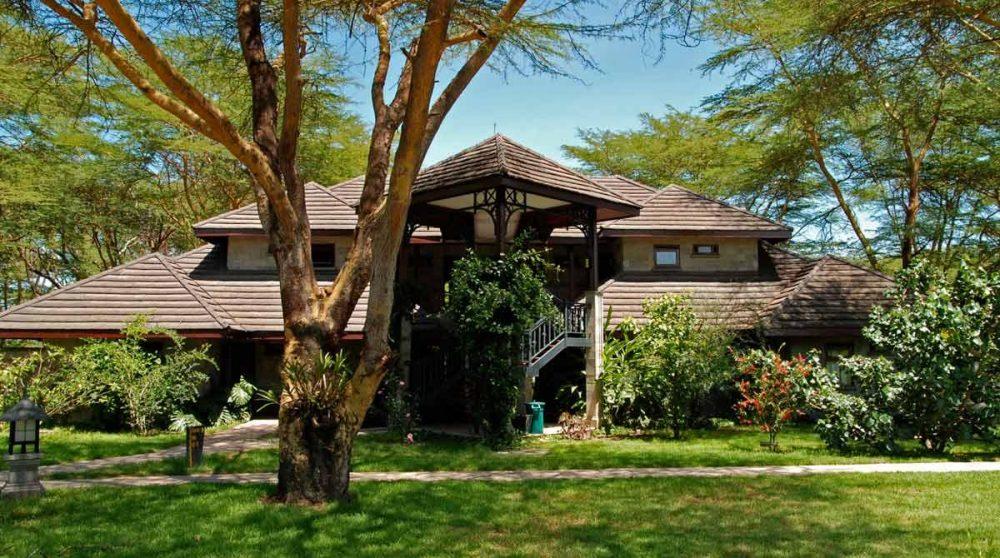 Bâtiment du Naivasha Simba Lodge
