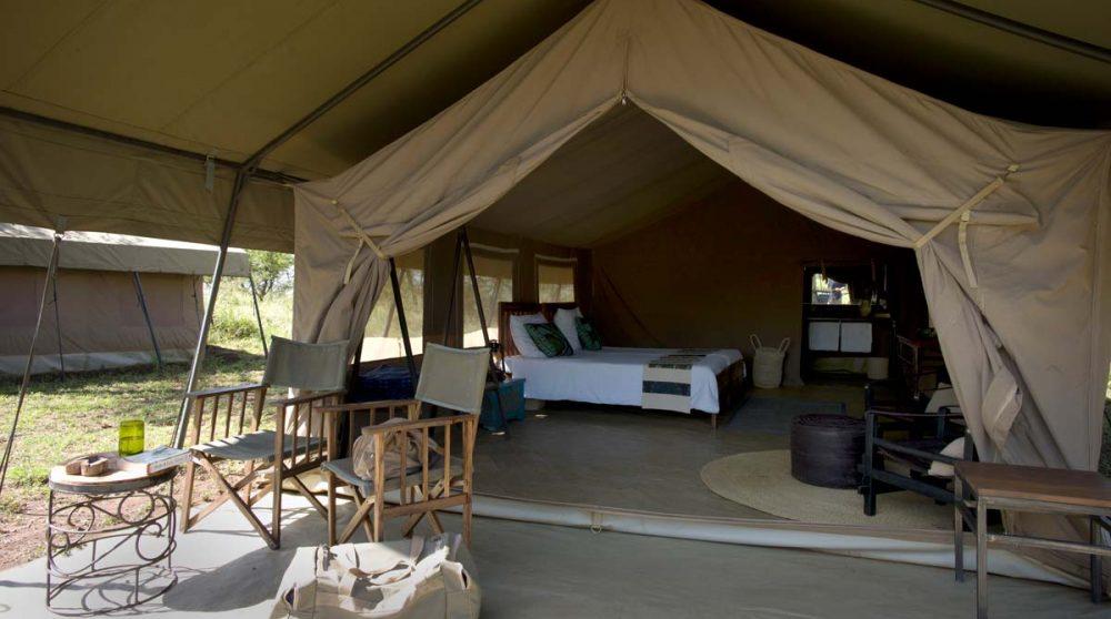Chambre dans une tente au Ronjo Camp