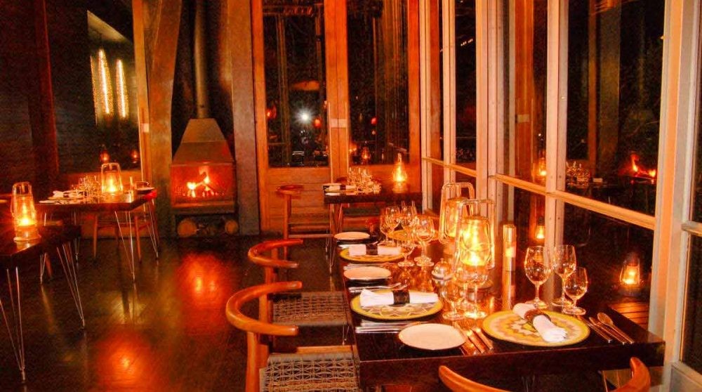 Le restaurant du Singita Sweni