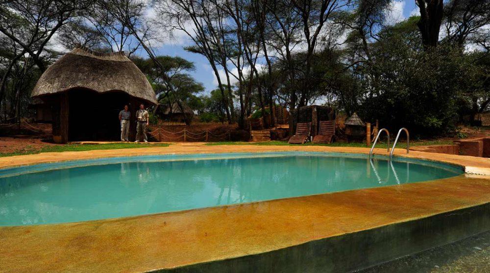 Piscine au Swala Camp