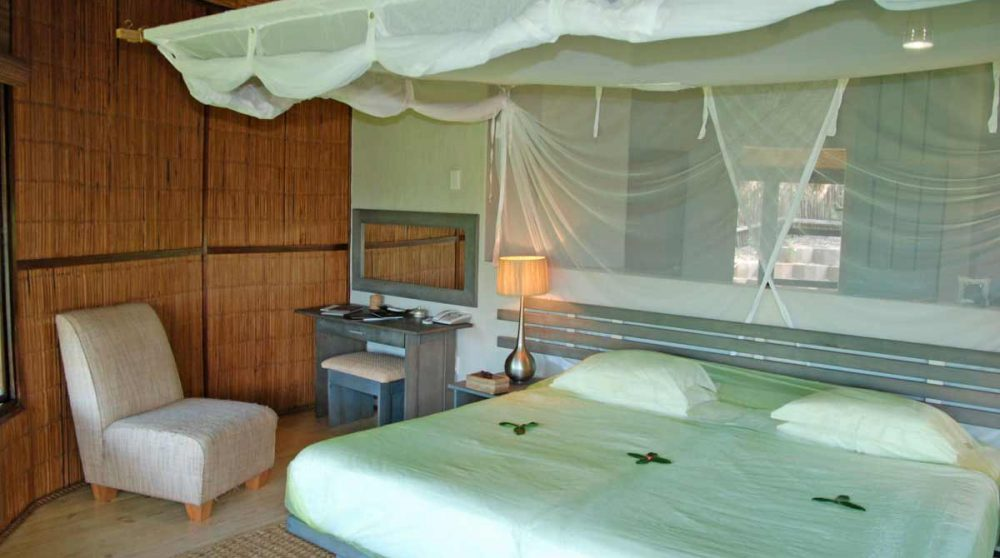 Une chambre du Thonga Beach Lodge