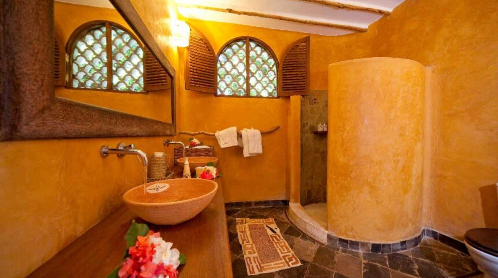 Extérieur d'un cottage au Kenya