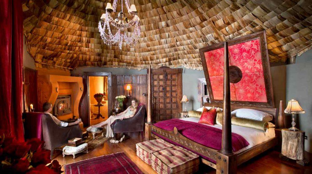 Une chambre du lodge en Tanzanie