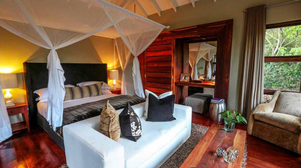 Autre vue de la chambre en Tanzanie