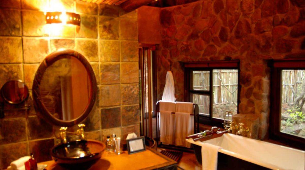La salle de bains en Afrique du Sud