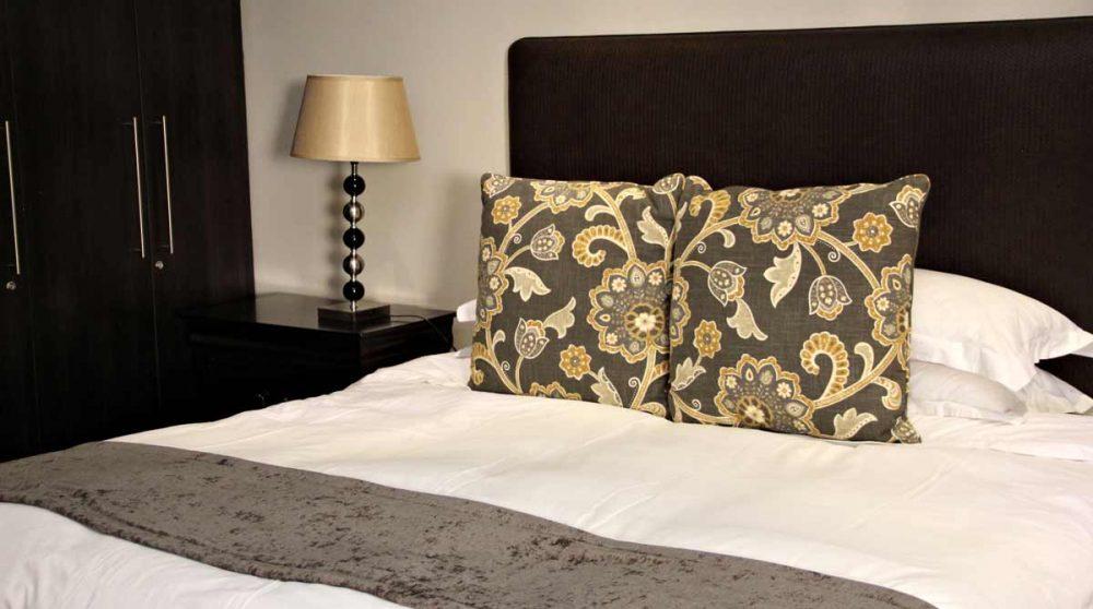 Détail du lit en Afrique du Sud