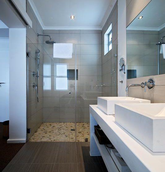 La salle de bains d'une chambre en Afrique du Sud
