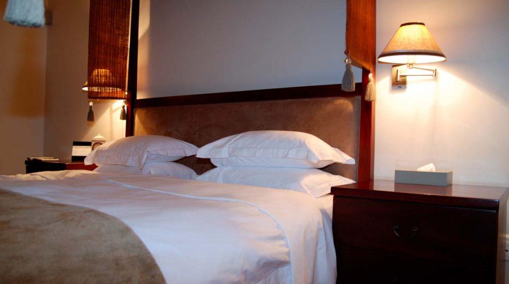 Autre vue d'une chambre luxury en Afrique du Sud