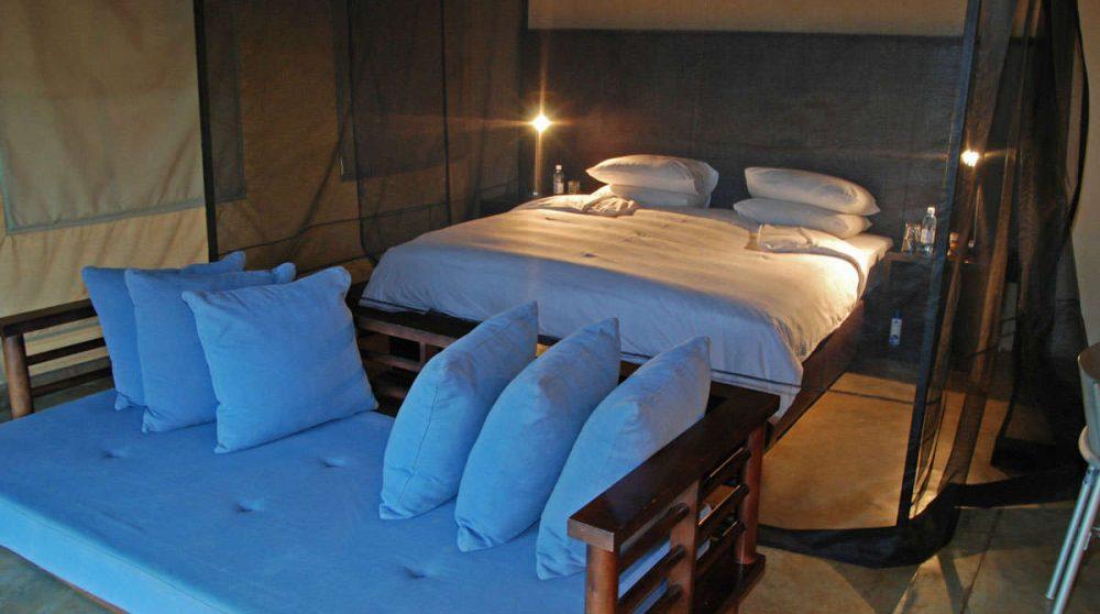 Autre vue du lit en Afrique du Sud