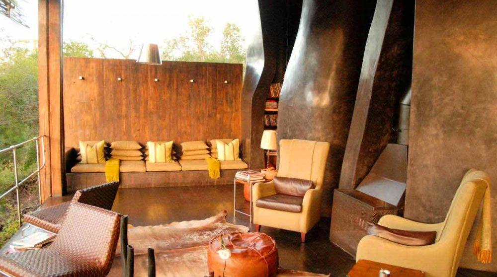 La terrasse au parc Kruger