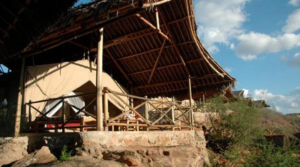 Un balcon au Kenya