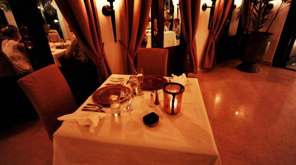 Un dîner à Zanzibar