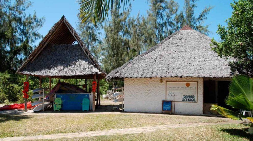 L'école de plongée au Kenya
