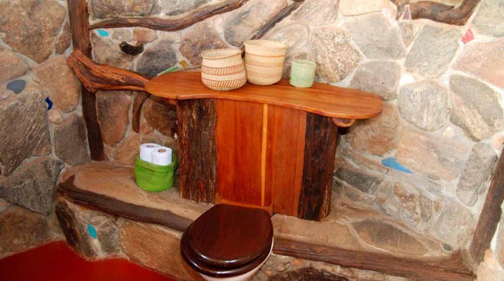Les toilettes à Laikipia